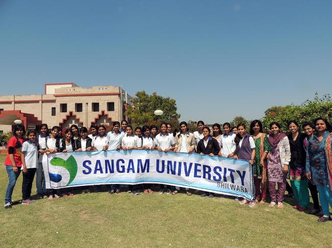 Sangam University Bhilwara Celebrates International Women's Day IWD 2014