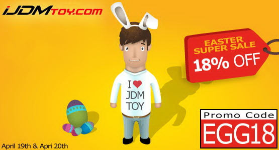 iJDMTOY.com 18% OFF Easter Weekend Sale