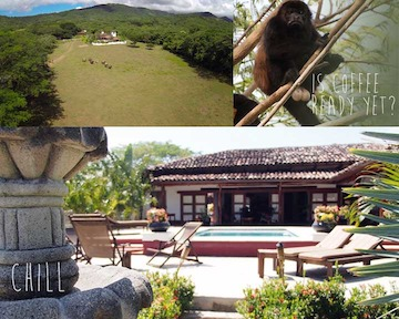 Nicaragua's Rancho Chilamate Guest Ranch now offering Overnight Accommodation