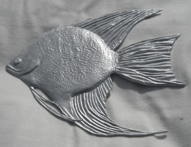 Fish Drapery Medallion