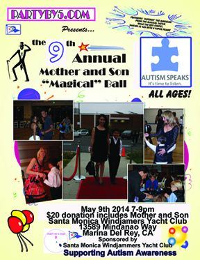 9th Annual Mother and Son Magical Ball May 9 2014