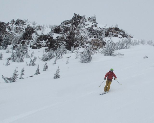 Skiing in a helmet can be warmer as well as safer, and helmet use is increasing.