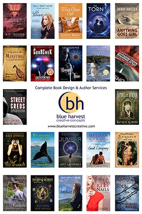 Sampling of BHC authors' books for sale during expo designed by BHC