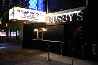 Navigating Filmmaking in LA Panel & Networking Event at Busby's East on May 15th