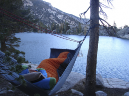 Hammock camping is comfortable, simple, and allows for outstanding views.