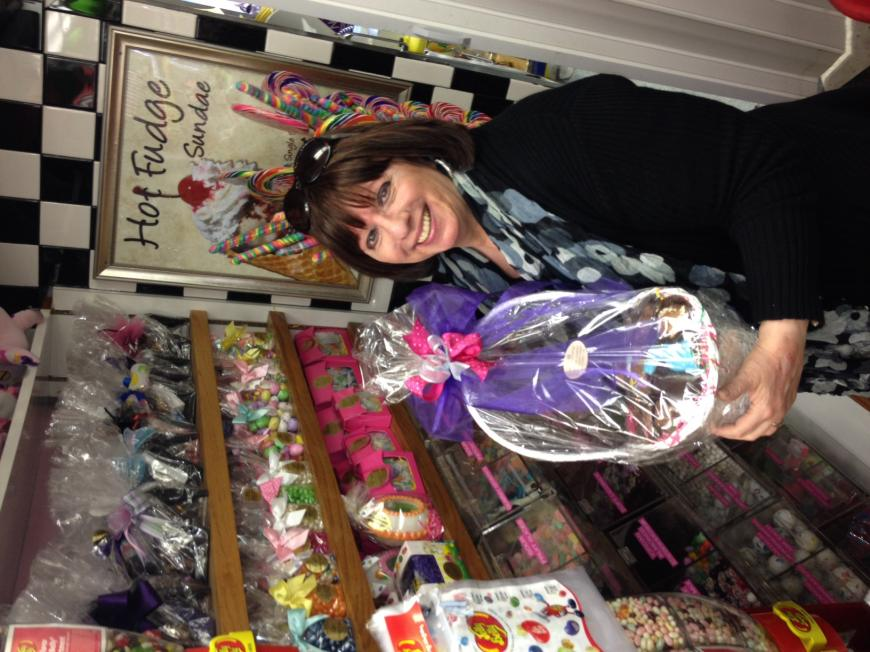 Mother's Day Candy Basket at Carousel Candies