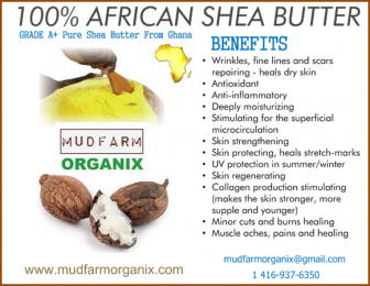 Where Exactly To Buy 100% Natural Ghana Shea Butter - Yellow
