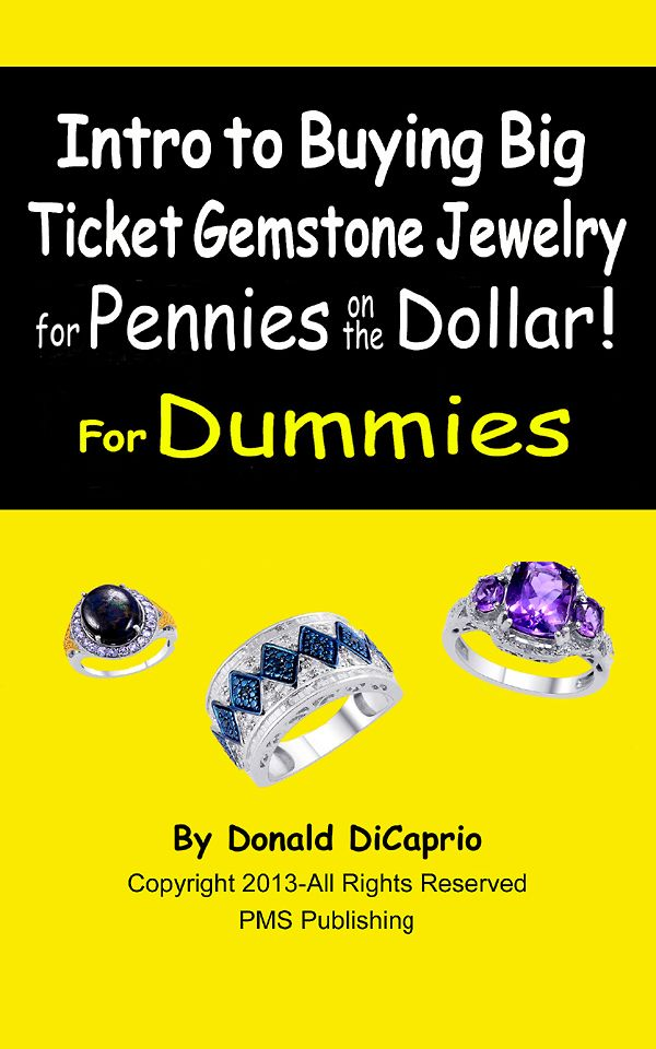 Intro to Buying Big Ticket Gemstone Jewelry for Pennies on the Dollar-FREE 04/27