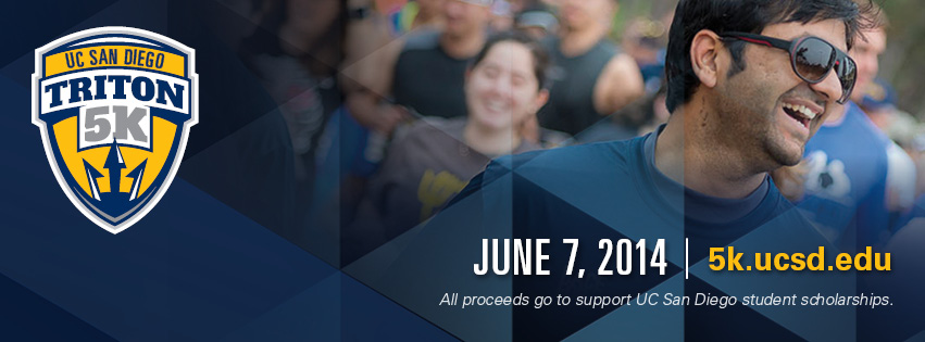 UC San Diego's Triton 5K to benefit students scholarships will be June 7