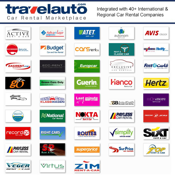 Leading Brands in Travelauto Online Car Rental Marketplace