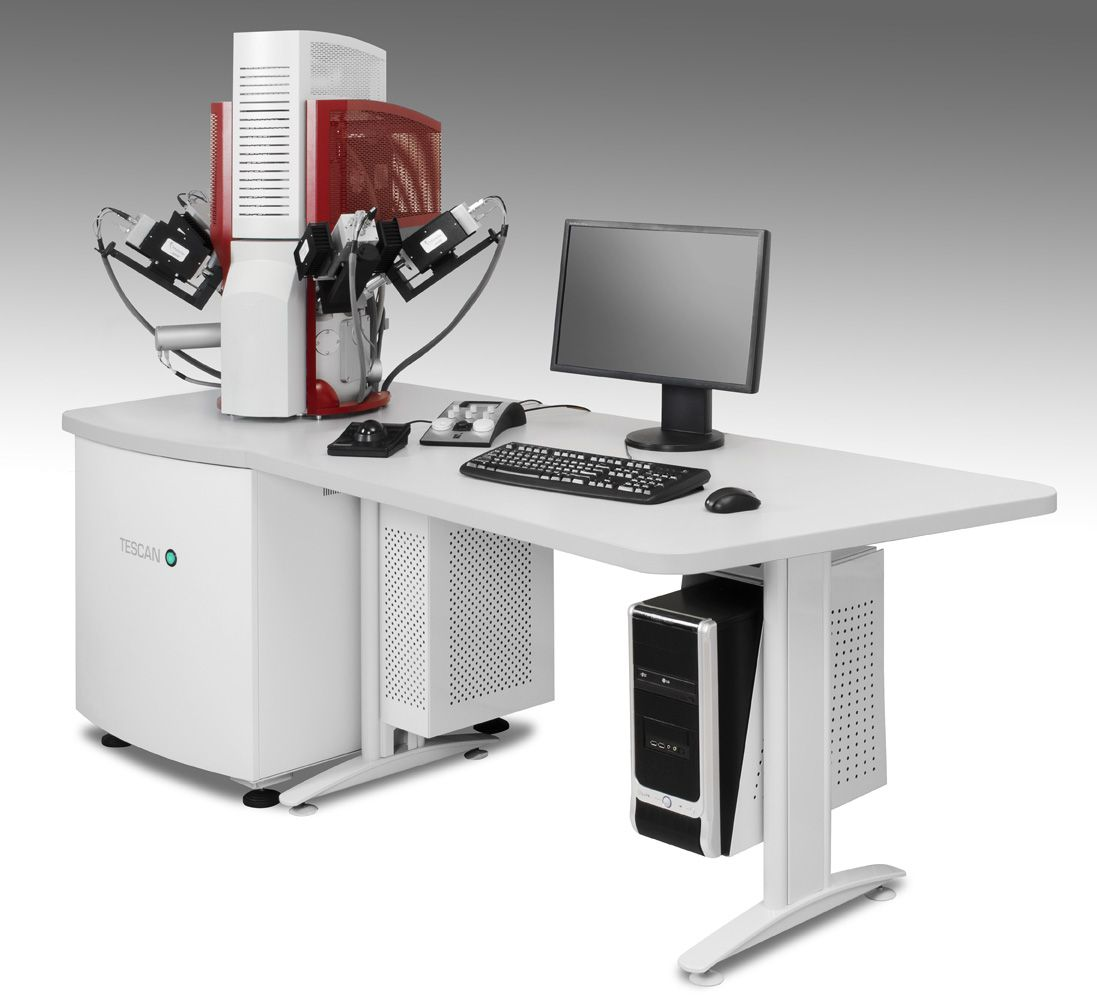 The TESCAN TIMA automated minerals analyser, FEG-SEM variant.