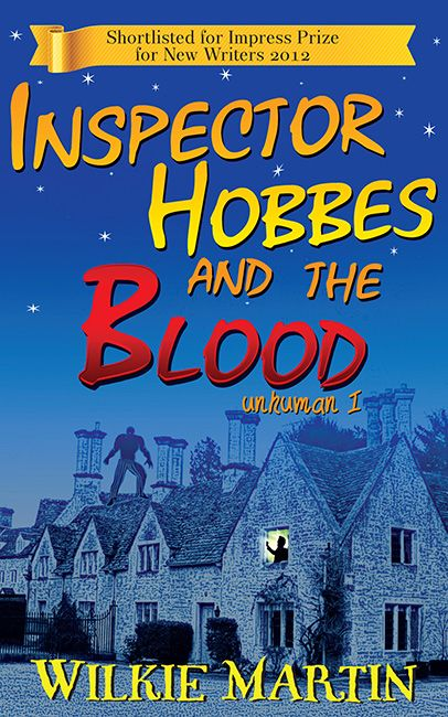 Front cover of Inspector Hobbes and the Blood by Wilkie Martin
