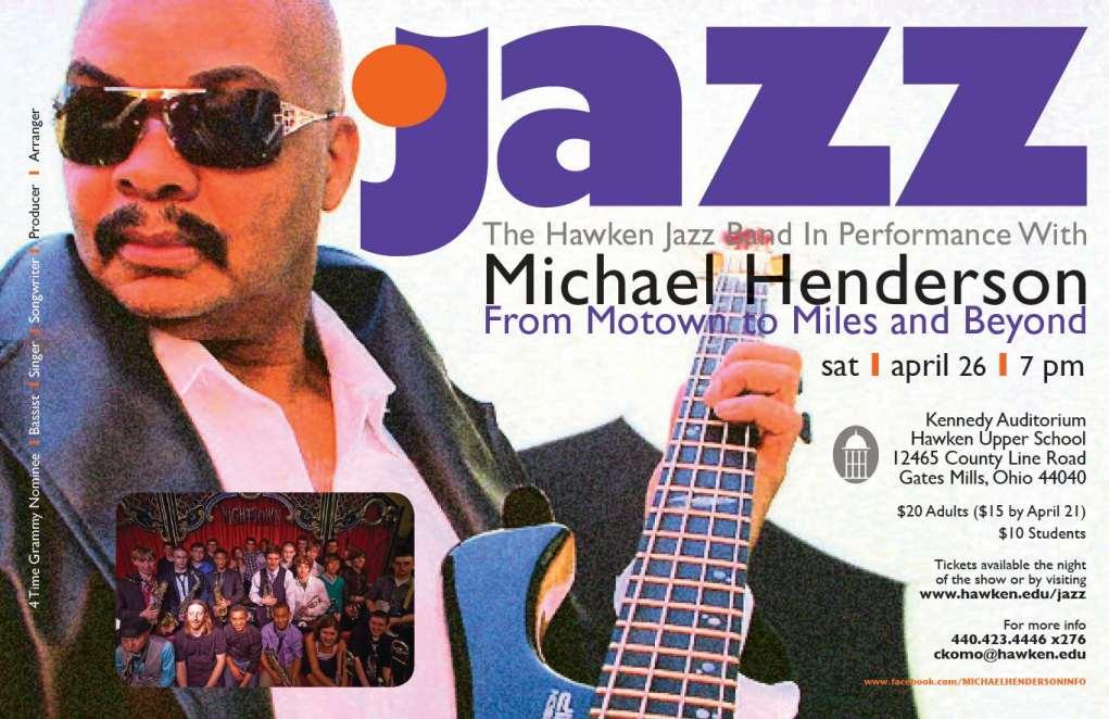 Michael Henderson Poster