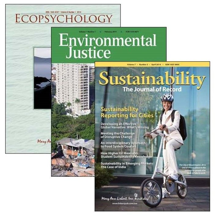 Sustainability, Environmental Justice, and Ecopsychology