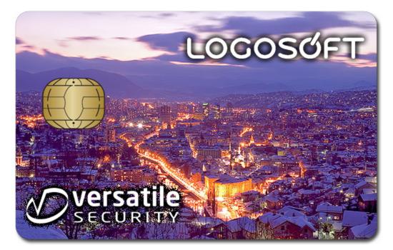 Versatile Security-Logosoft smart card