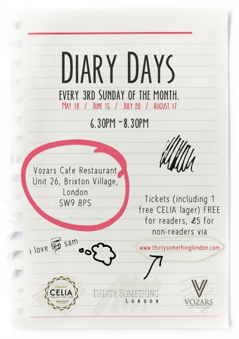 Diary Days Official Press Poster