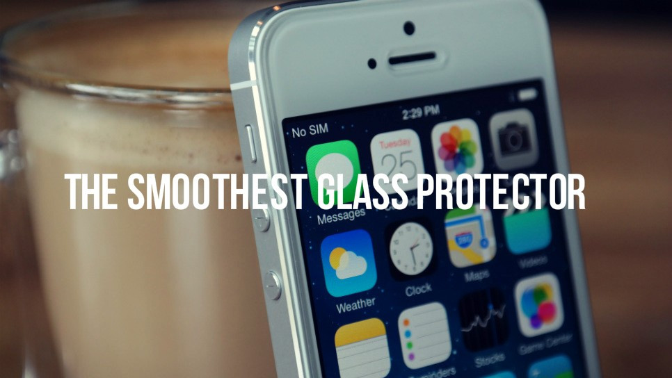 The Smoothest Screen Protector-iphone5