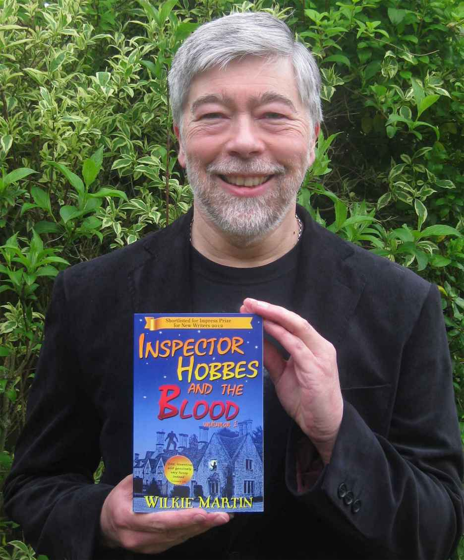 Wilkie Martin author of Inspector Hobbes and the Blood