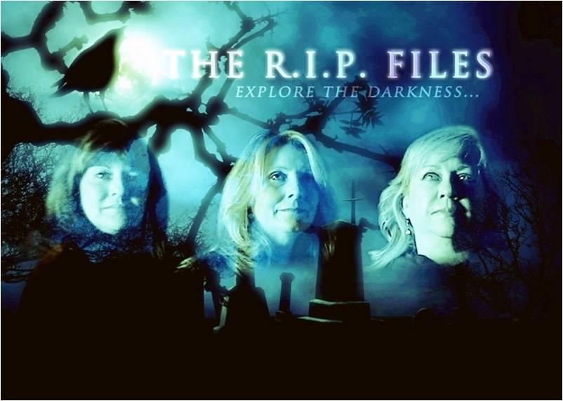 Investigators Lisa, Malinka, and Pat explore the darkness.