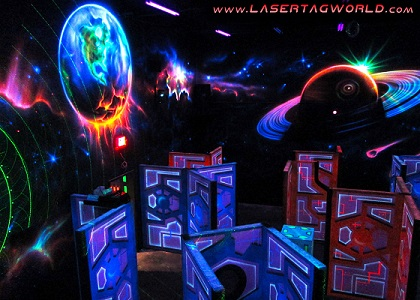 Creative Works designs out-of-this-world custom laser tag arenas
