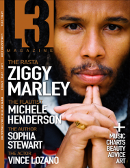 L3 Magazine - April - 2014 - Cover ft. Ziggy Marle