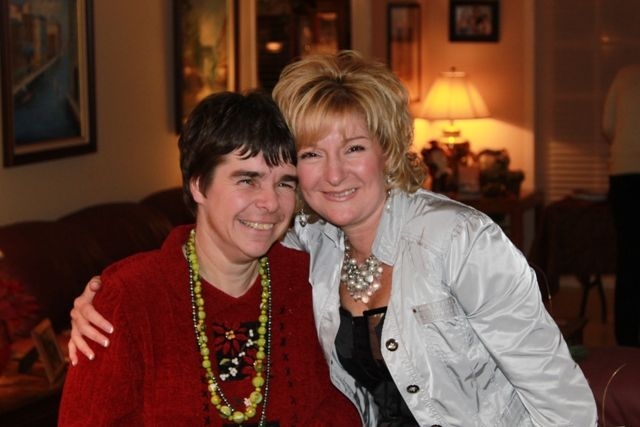 FrancesTrillwood and sister Hilary Hurt, Executive Sales Manager of EBE