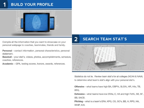 High School Baseball Recruiting - Build Profiles and Search