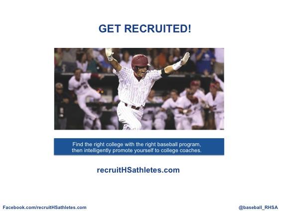High School Baseball Recruiting - recruitHSathletes.com