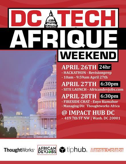 DC Tech Afrique Weekend
