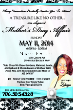 A Treasure Like No Other...An Elegant Mother's Day Affair