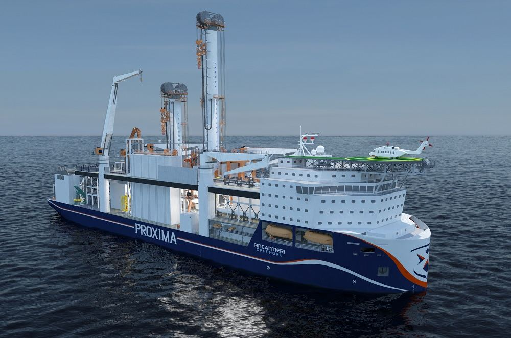 Fincantieri Offshore is using AVEVA Marine software in the concept design...