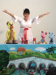 Fara Madrigal and Puppets