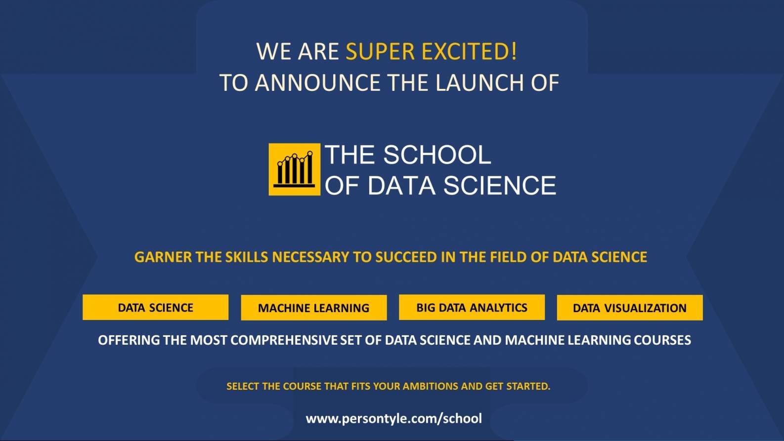 School of Data Science Launch