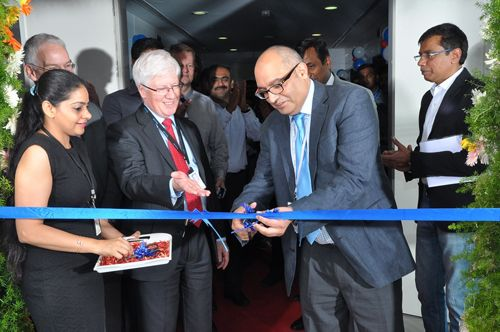 Office opening ceremony