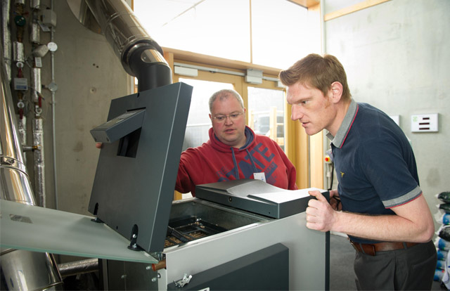 Installers getting to grips with biomass