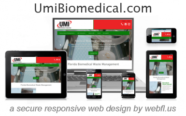 UMI Florida Medical Waste Experts Grow Statewide with Responsive Web Design