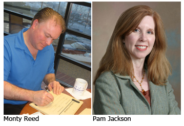 Monty Reed and Pam Jackson