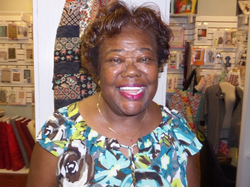 Gloria Brathwaite, Cut Up and Sew's New Instructor.