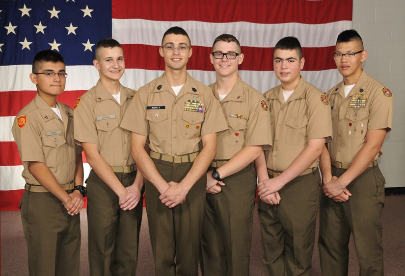 April 2014 Marine Military Academy Cadets of the Month
