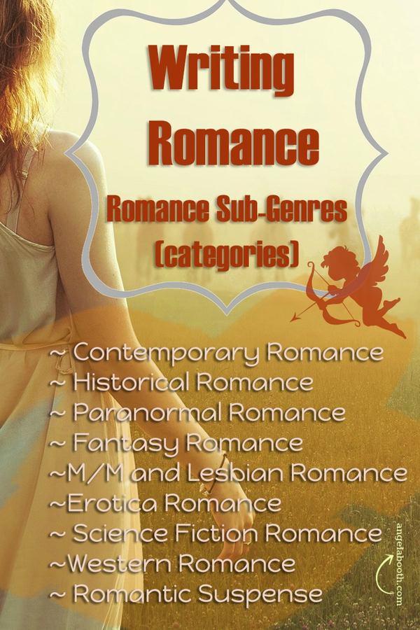 Writing romance: romances genres