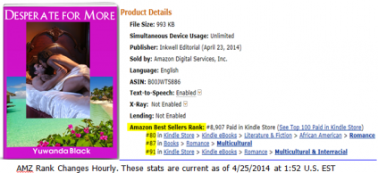 Desperate for More: An Amazon Top 100 Category Seller!
