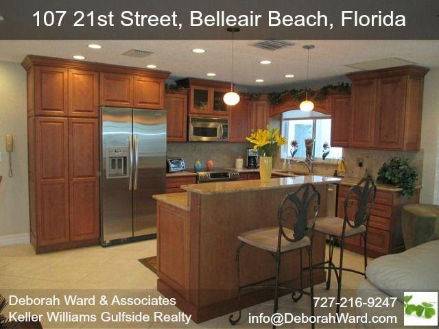 107 21st St, Belleair Beach, FL - Remodeled Kitchen