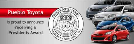 2013 President's Award - Pueblo Toyota