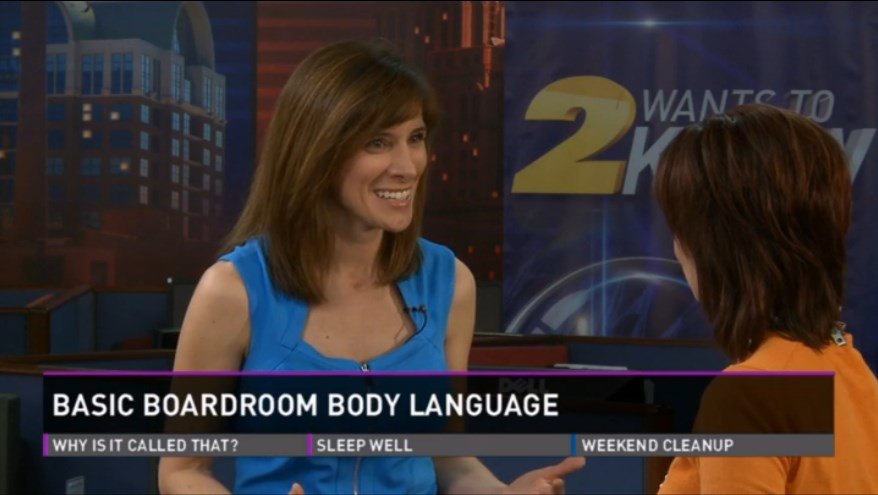 Blanca Cobb - Body Language Expert - WFMY News 2