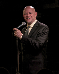 Comedian Don Barnhart Entertains In Afghanistan