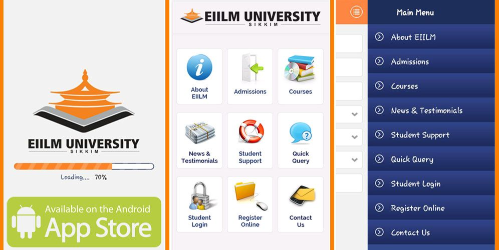 EIILM Android App for Online Learning