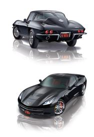 One person will win both beautiful Stingray Corvettes.