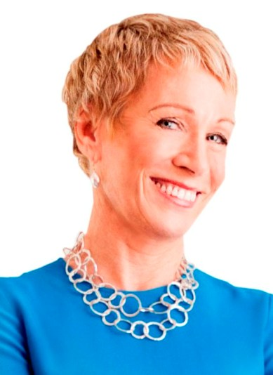 "Real estate mogul and ""Shark Tank"" Shark Barbara Corcoran"