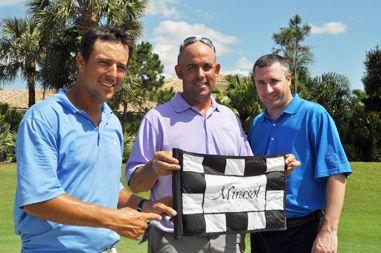 Last year's Mirasol team raised $20,000. JT Thatcher, Marc Puls, Ryan Shcultz