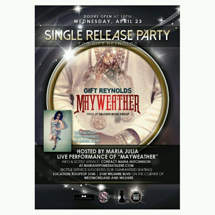 Single Release Flyer
